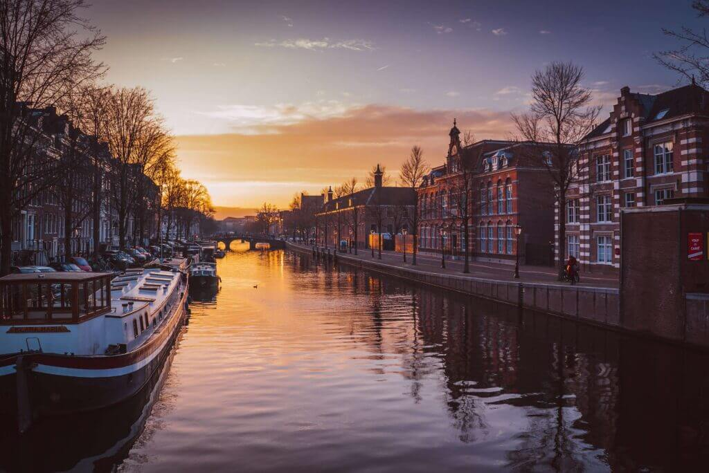 Amsterdam is known for its canals