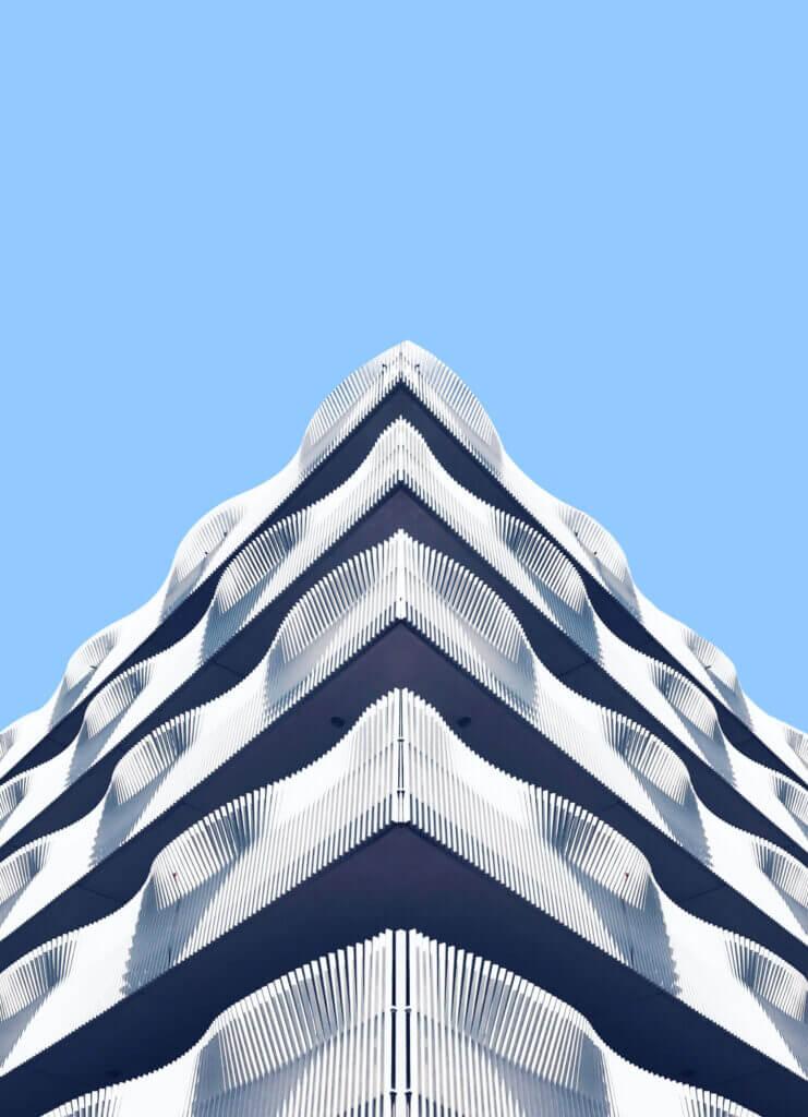 Contemporary architecture in ijburg zuid, Amsterdam