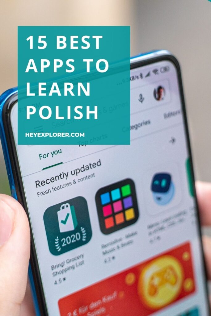 apps to learn Polish