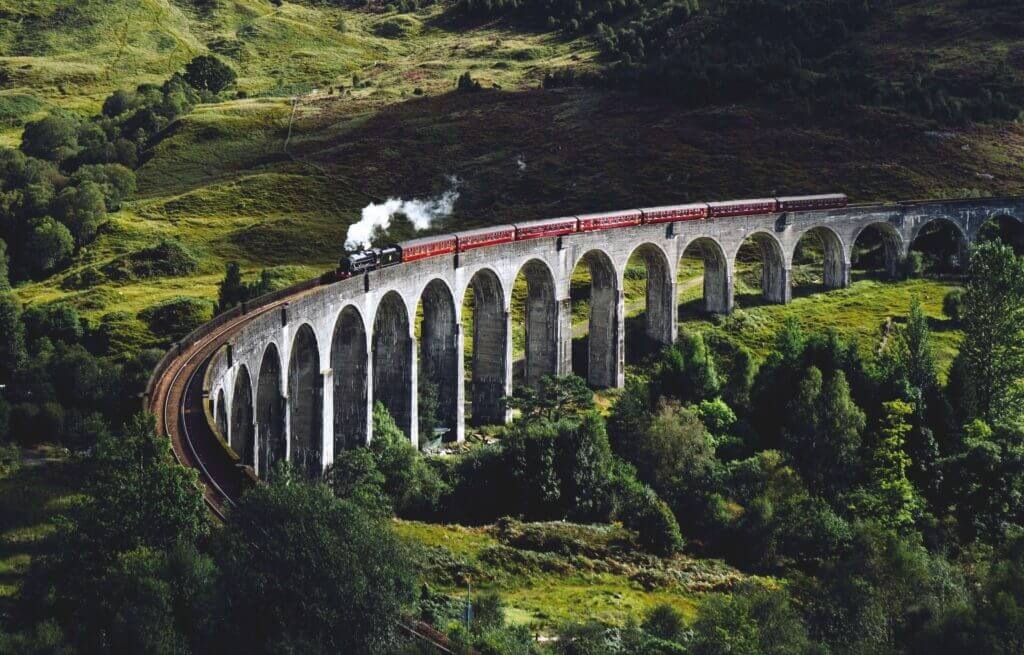 hogwarts express scotland