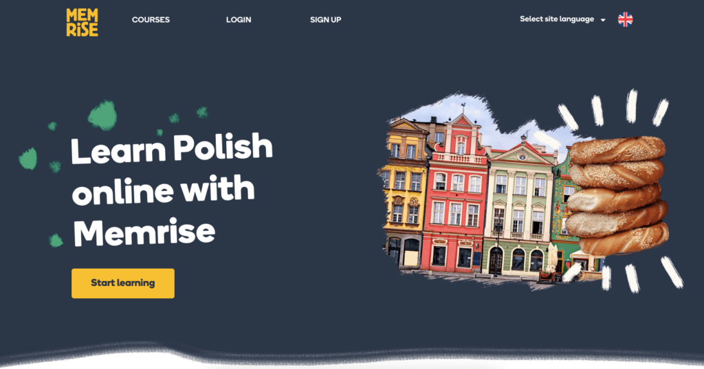 learn Polish with Memrise