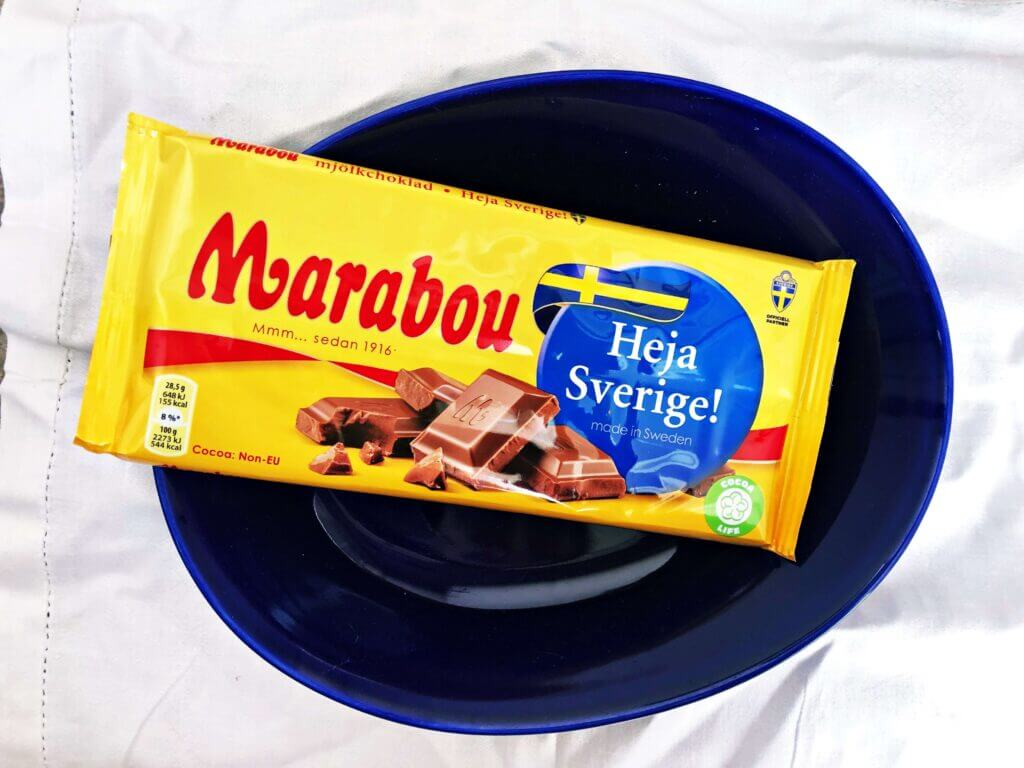 Marabou chocolate bar