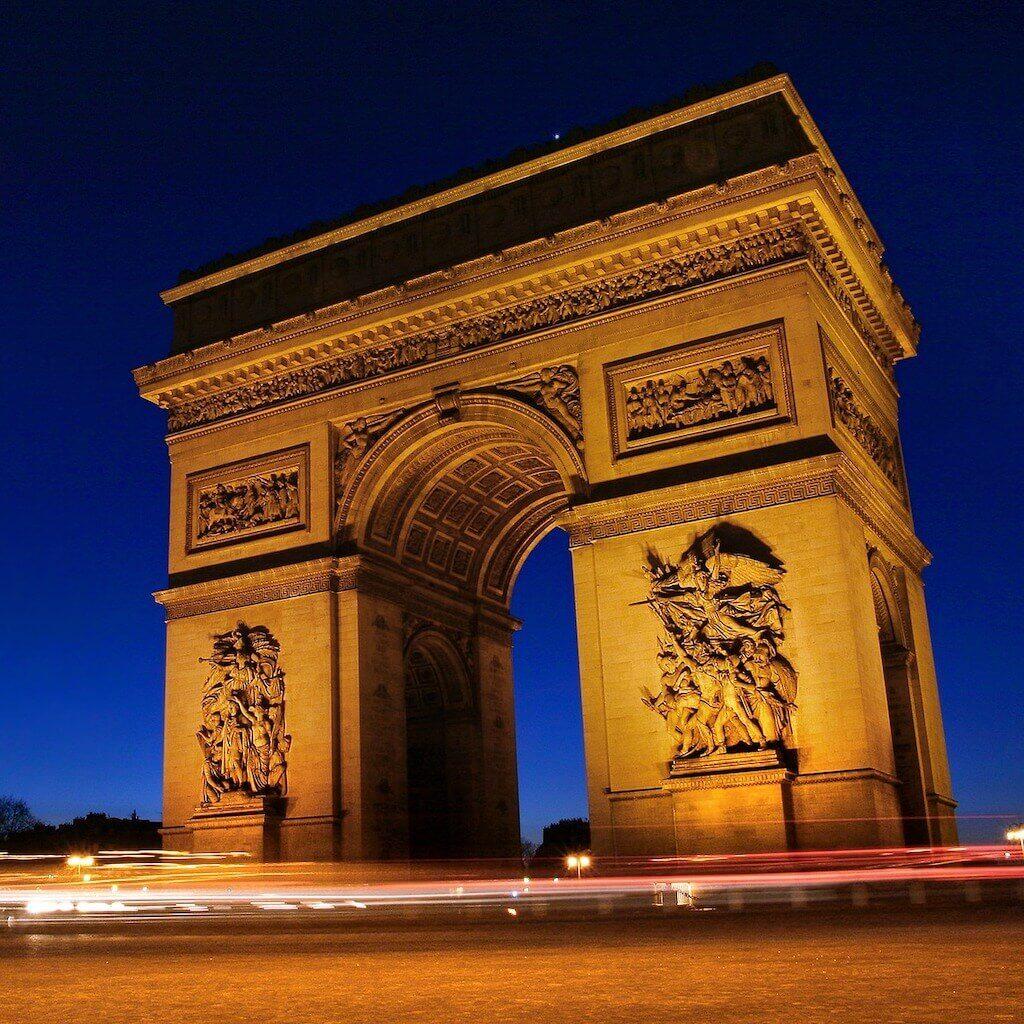 Paris' Arc de Triomphe
