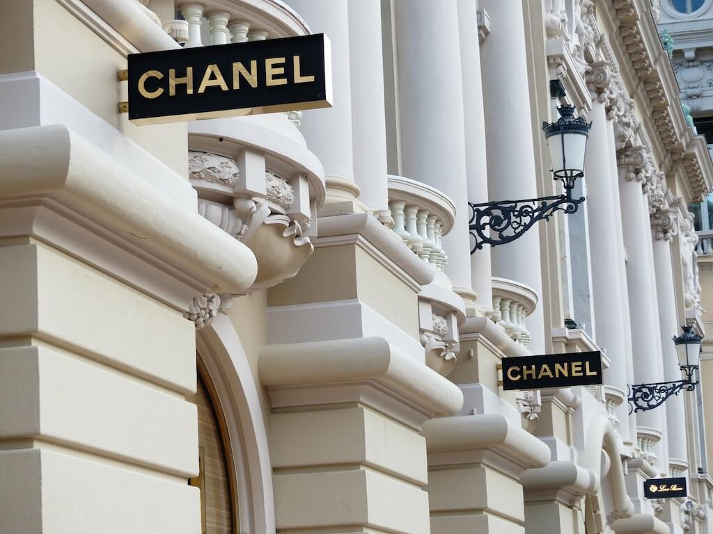 Chanel shop in Paris