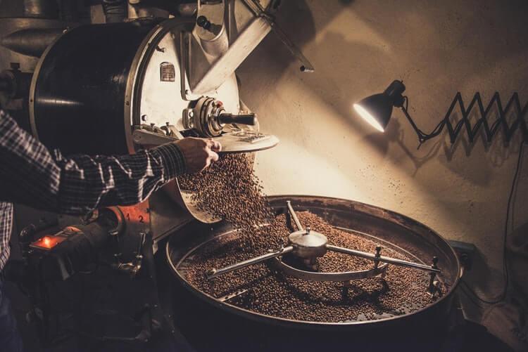 roasting vietnamese coffee beans