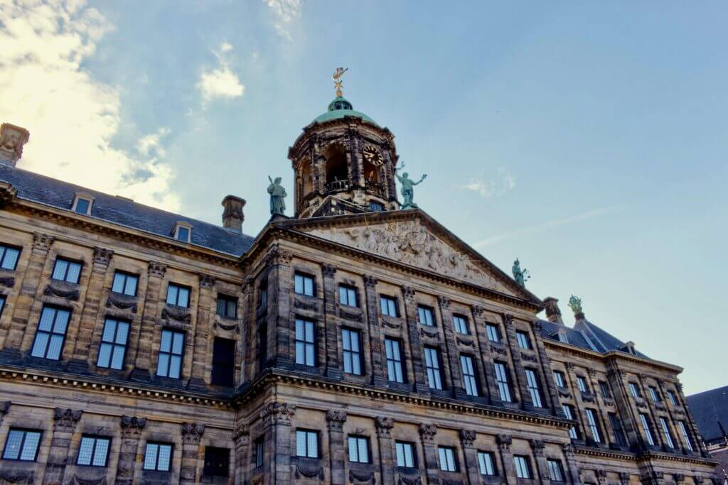 Amsterdam is known for its royal palace