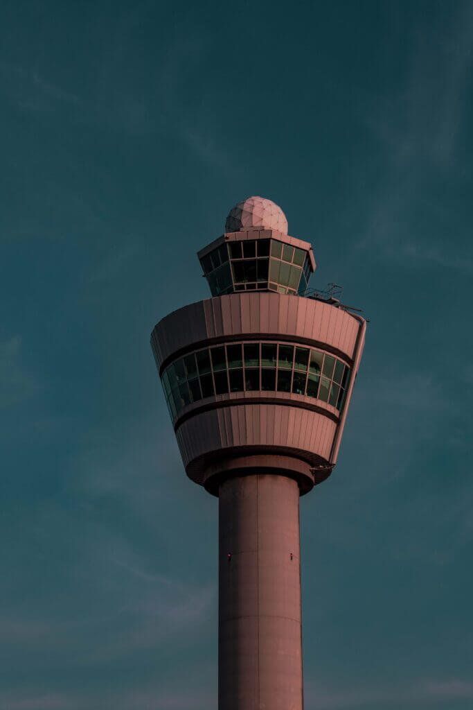 The tower of Schiphol Airport