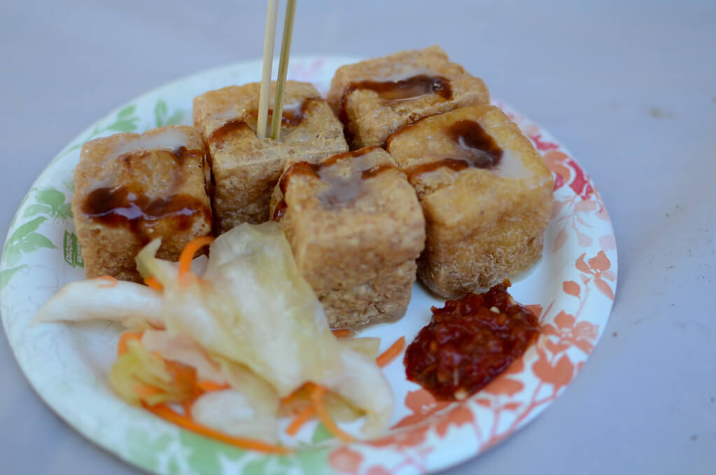 Taiwan is famous for its stinky tofu
