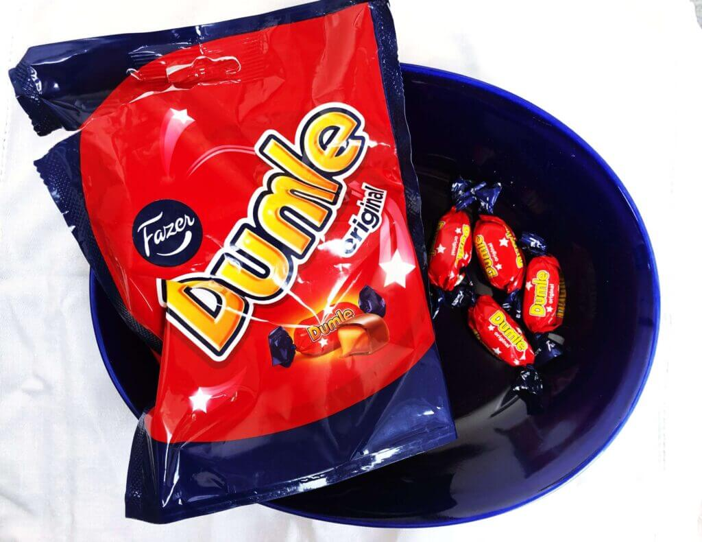 Swedish dumle chocolates