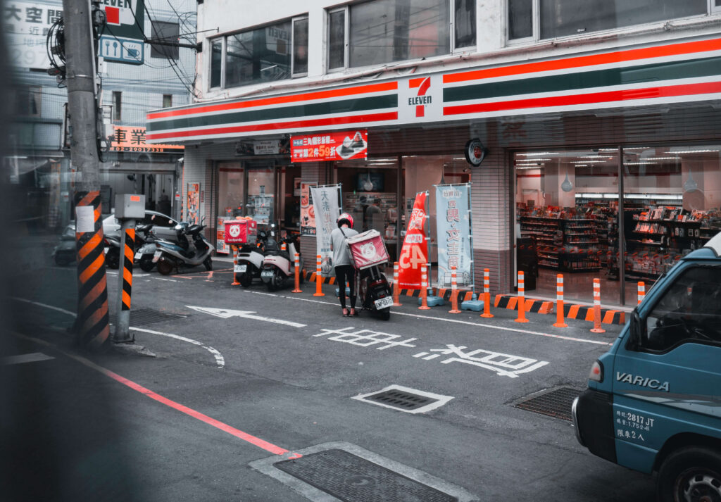 A 7-Eleven in Taiwan