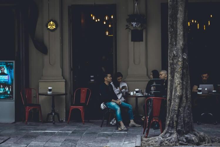a vietnamese coffee shop