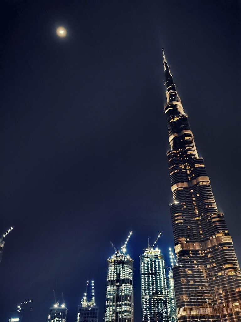 Dubai is famous for the Burj Khalifa, tallest tower in the world