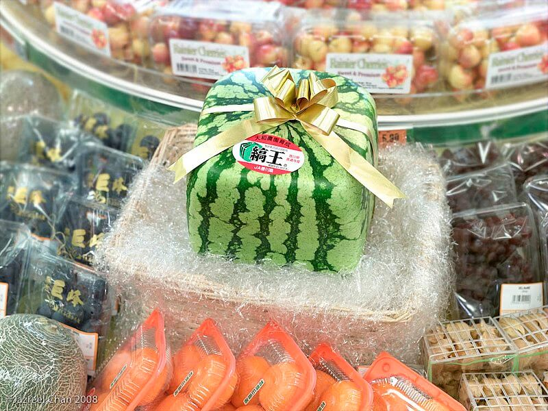 cubic watermelon