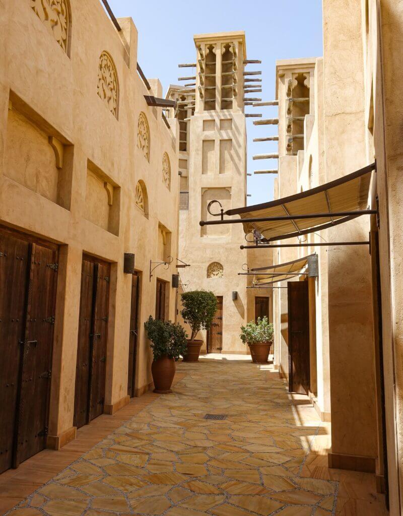 Desert architecture in Dubai