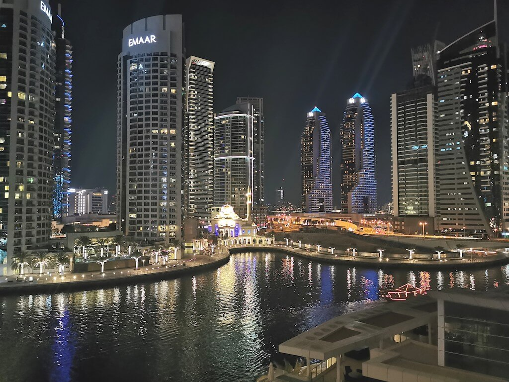 Dubai Marina is one of the city's most coveted residential districts