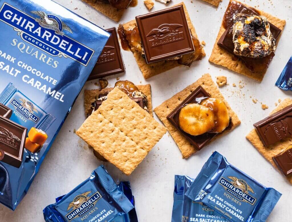 ghirardelli chocolate squares