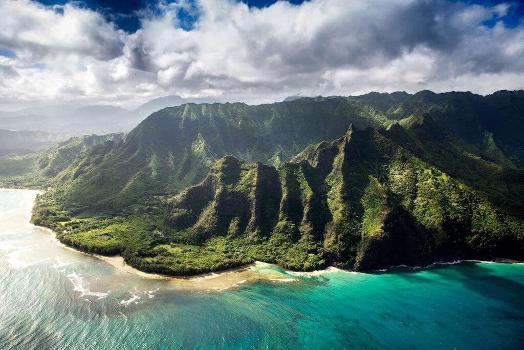 Hawaii is famous for its coastline