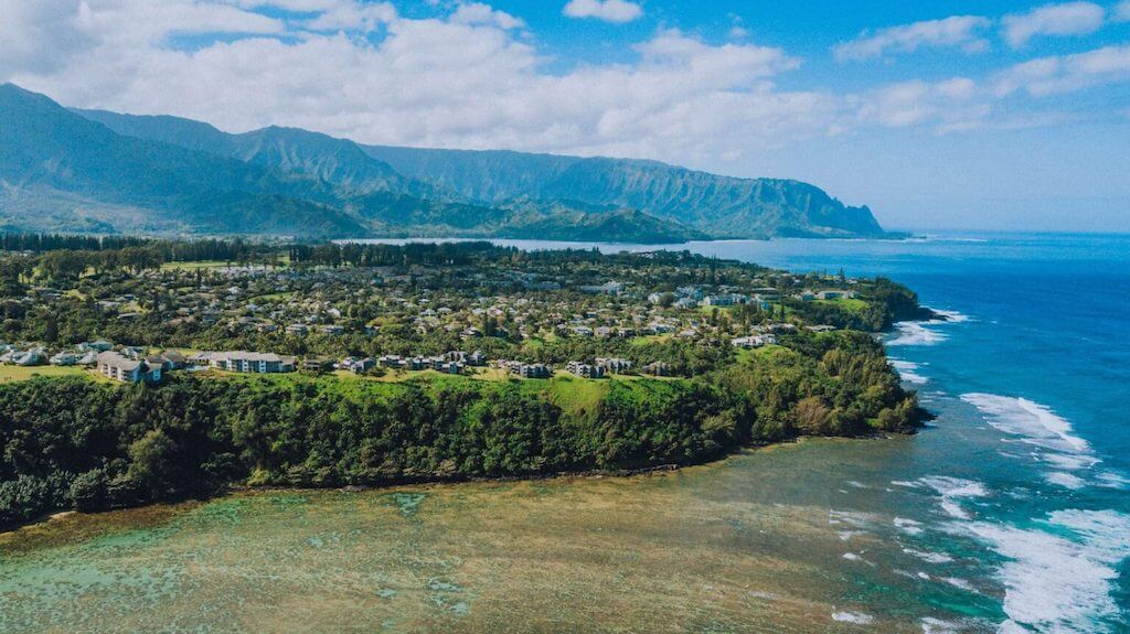 Kauai meets the ocean