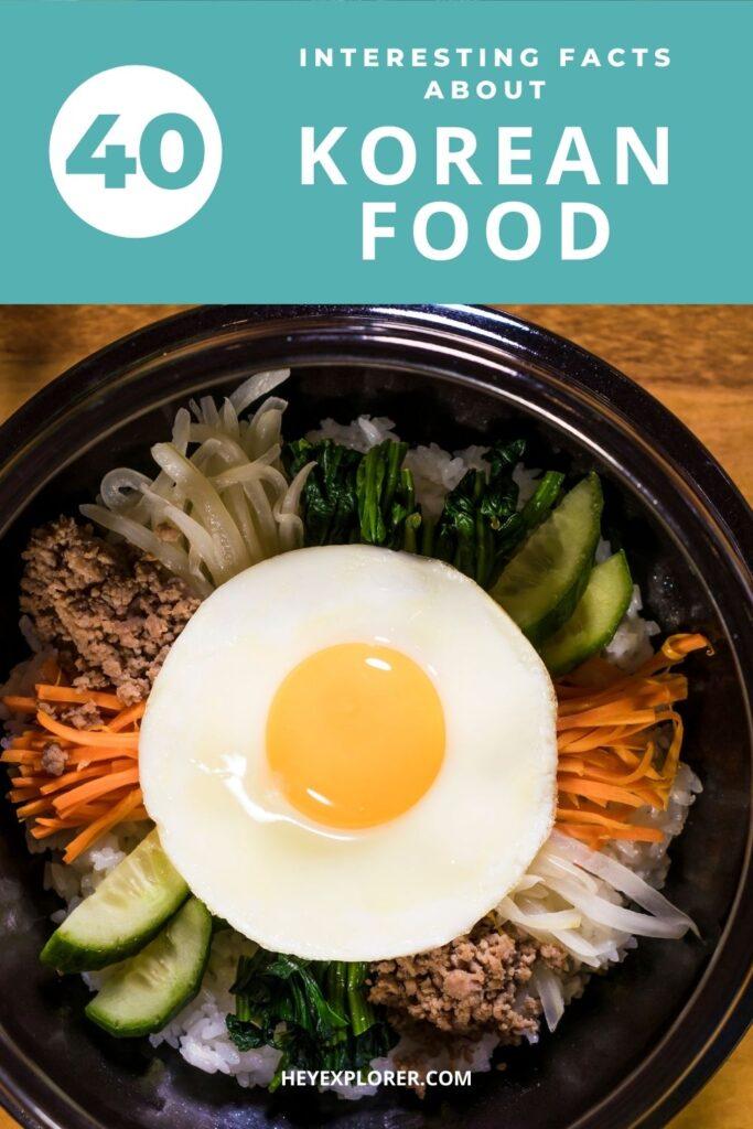 Korean food facts