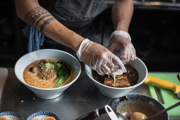 preparation of ramen