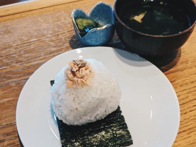 miso soup with a bowl of rice