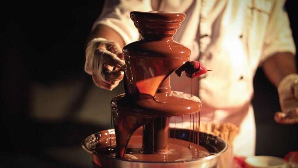 sephra chocolate fondue