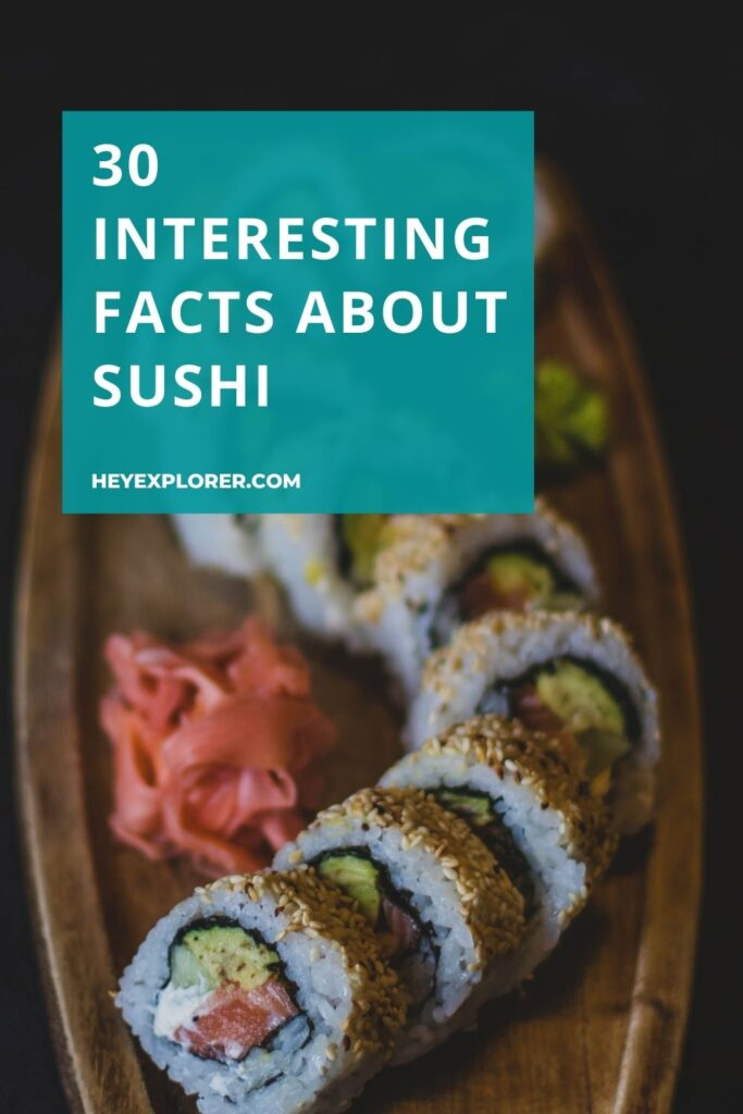sushi facts