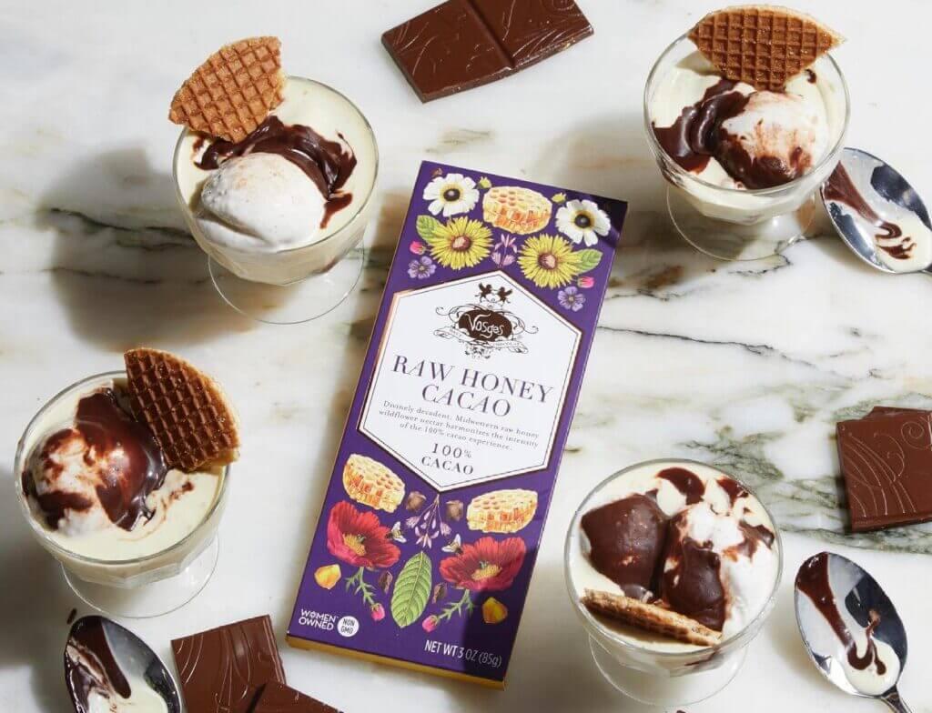 raw honey cacao by vosges haut chocolat