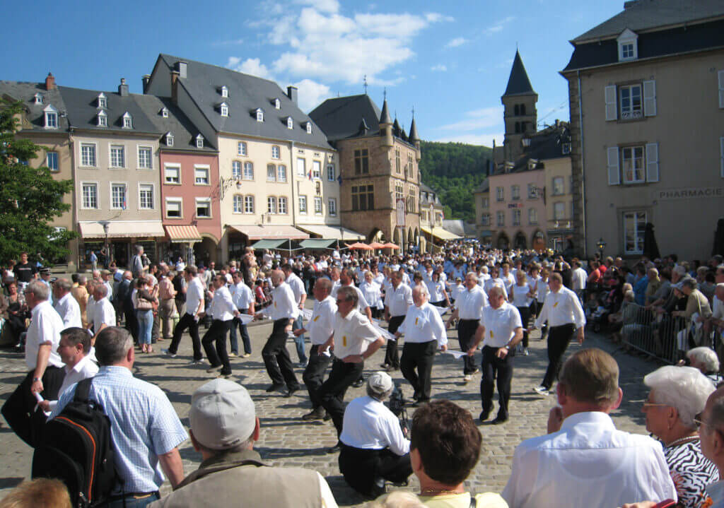 22. Echternach Dancing Procession