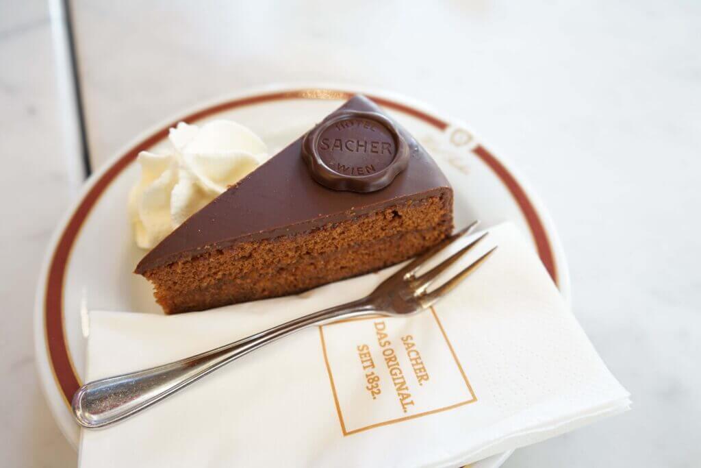Sachertorte chocolate cake