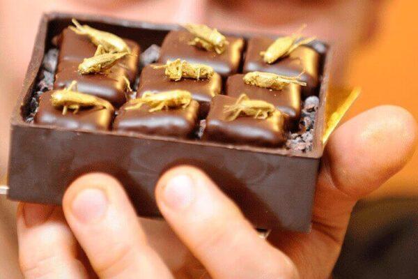 A box of Aphrodite Chocolates
