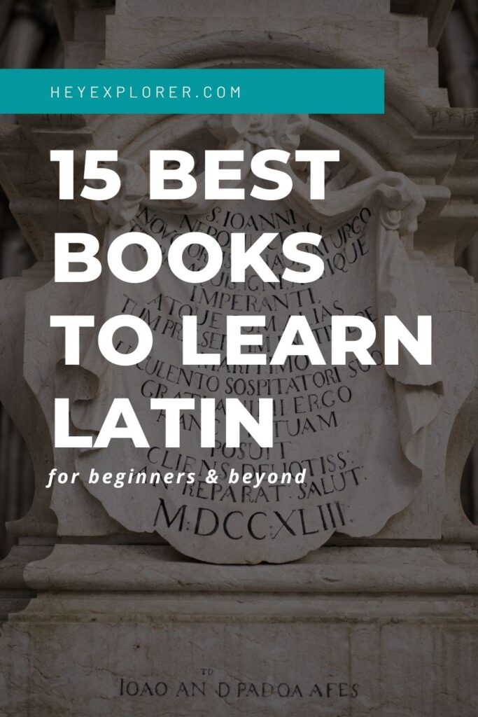 best books to learn latin