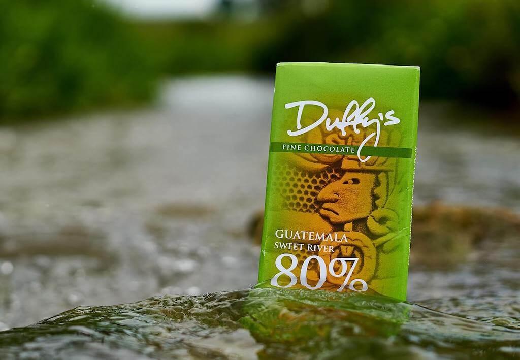 Duffy's fine chocolate bar