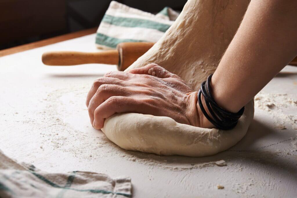 Italian pizza dough