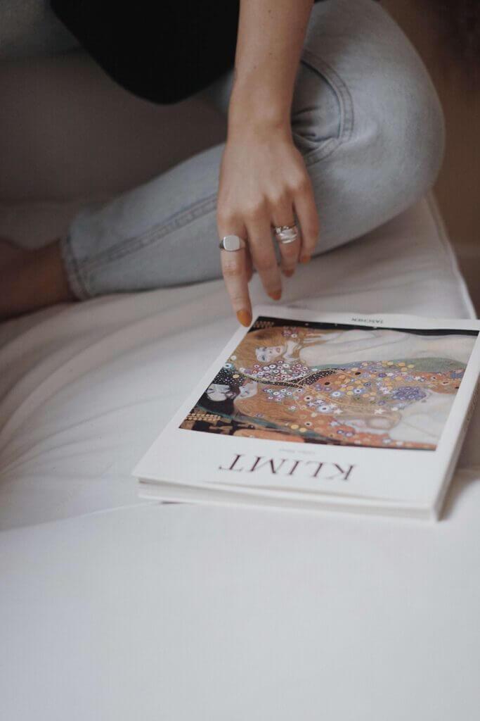 Book about Gustav Klimt