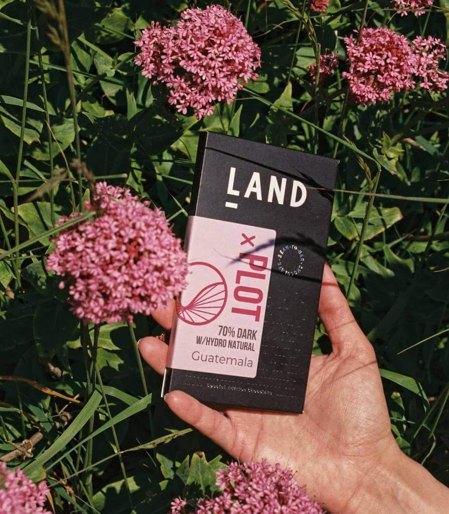 LAND is a UK chocolate brand