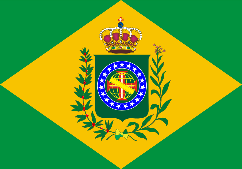 The Brazilian coat of arms