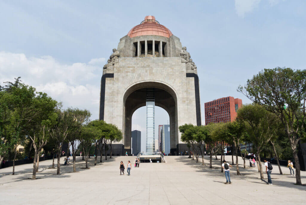 Monument to the Revolution in Mexico City