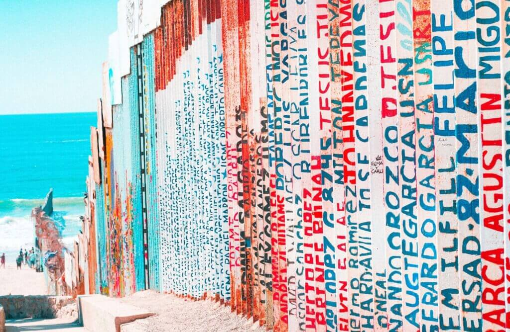 A steel fence has divided Tijuana and San Diego since 1994.