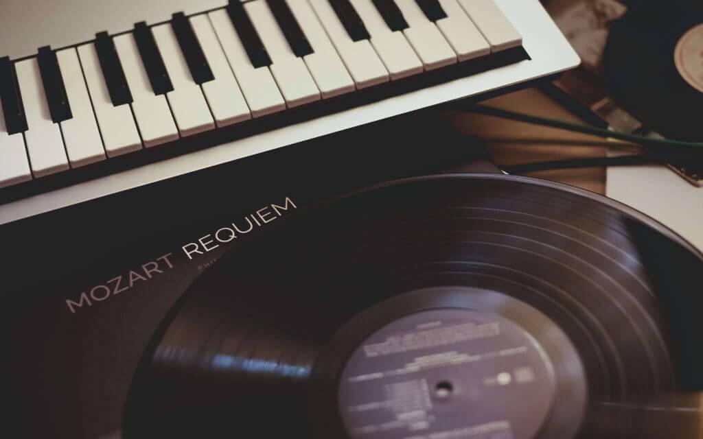 A mozart recording