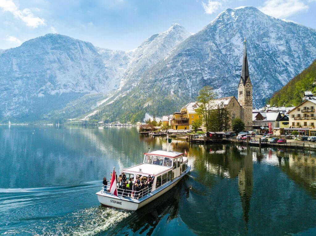 pretty austrian town