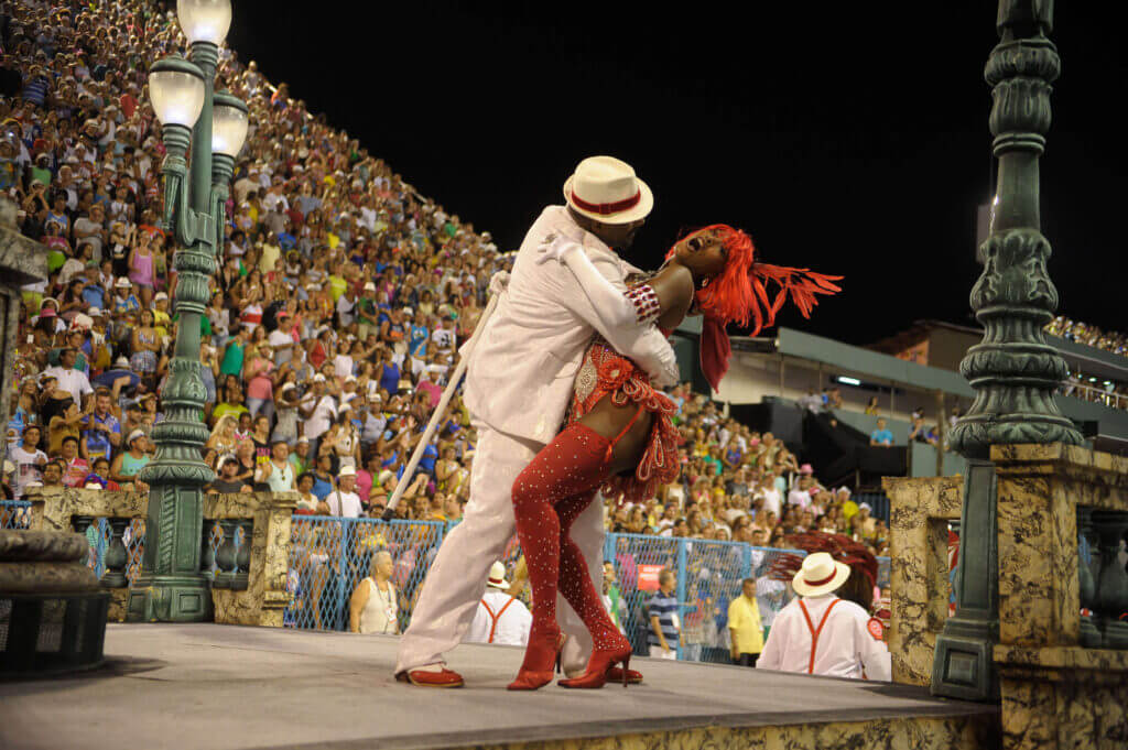 Dancers in Rio's Carnival