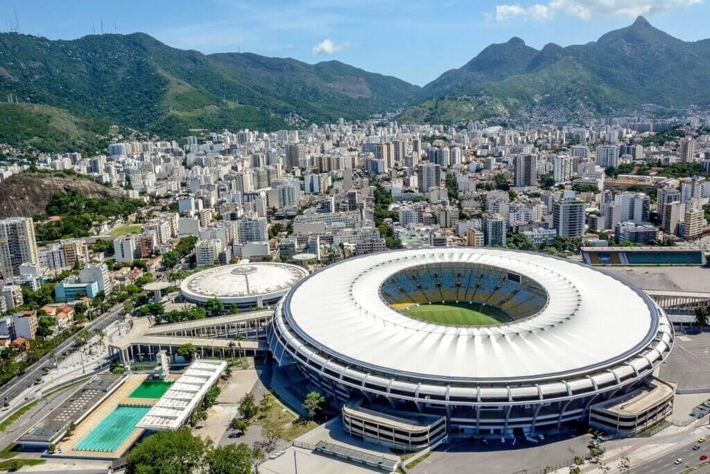 Maracanã Stadium is one of Rio's famous landmarks