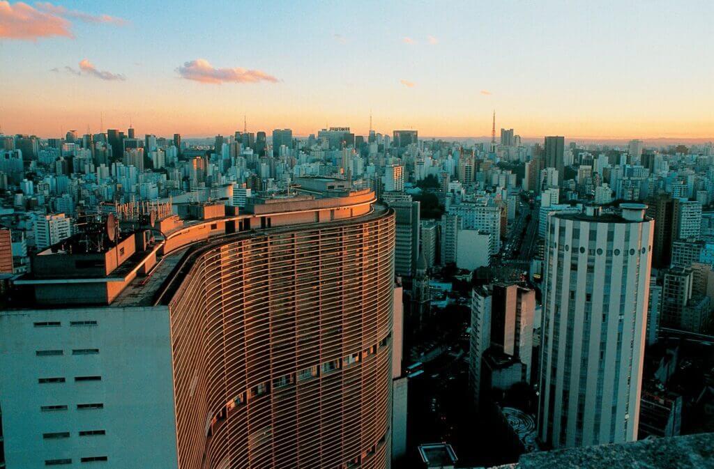 skyscrapers in sao paulo