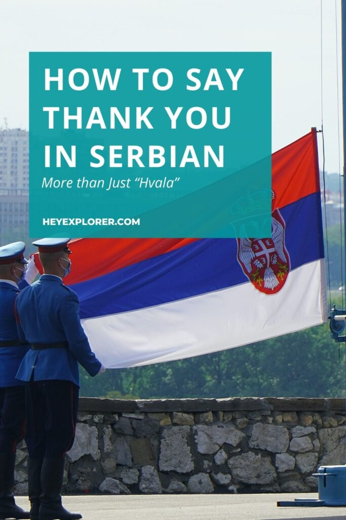 Thank you in Serbian