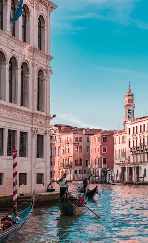 Typical scenery in Venice