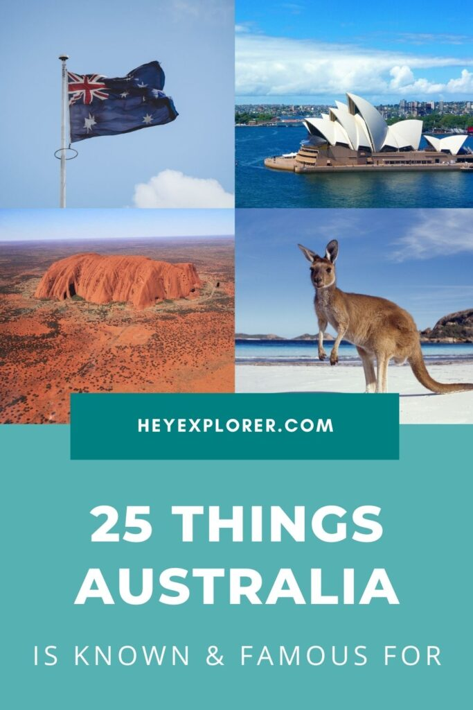 Australia is famous for