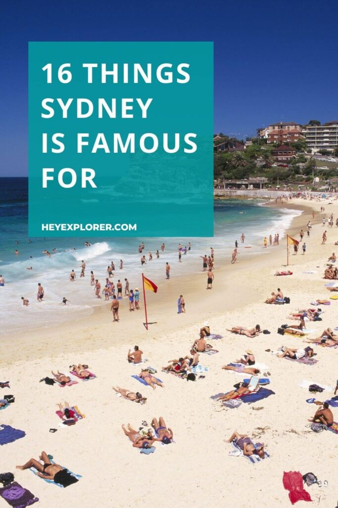what is Sydney famous for