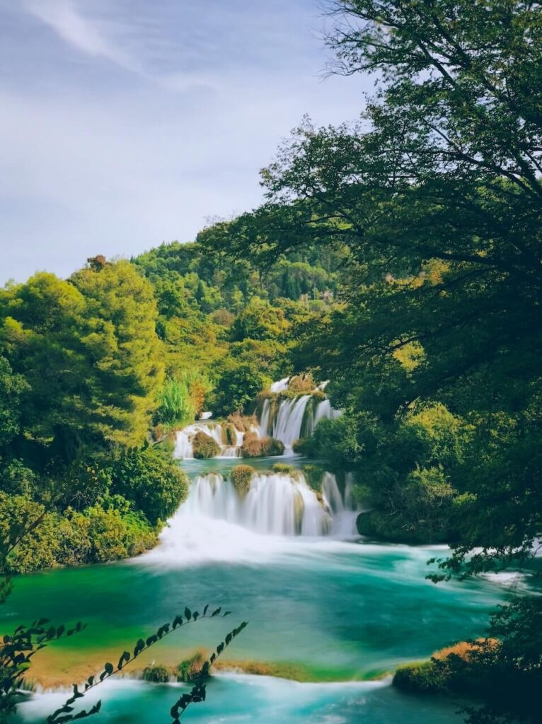 Waterfalls in Krka Park