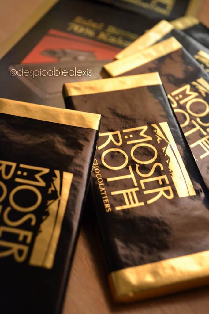 Moser Roth chocolates
